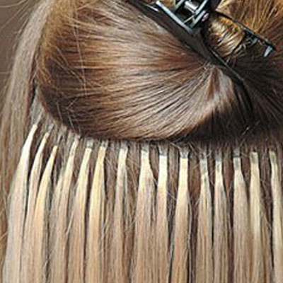 Extensions keratine cheveux fins